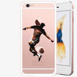 Plastový kryt iSaprio - Fotball 01 - iPhone 6 Plus/6S Plus - Rose Gold