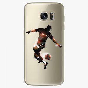 Plastový kryt iSaprio - Fotball 01 - Samsung Galaxy S7 Edge