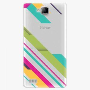 Plastový kryt iSaprio - Color Stripes 03 - Huawei Honor 3C