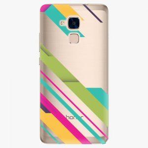 Plastový kryt iSaprio - Color Stripes 03 - Huawei Honor 7 Lite