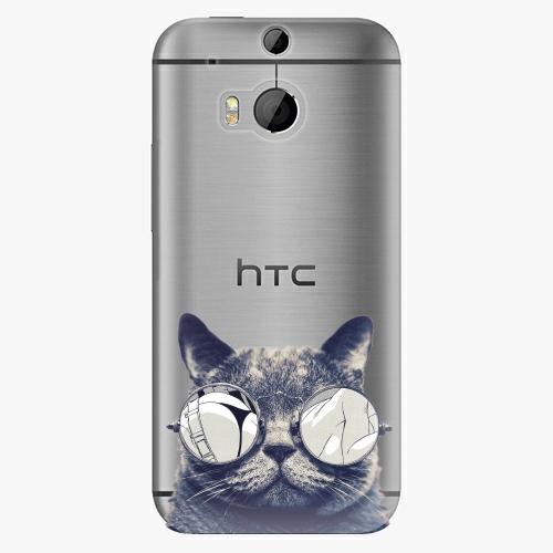 Plastový kryt iSaprio - Crazy Cat 01 - HTC One M8