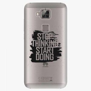 Plastový kryt iSaprio - Start Doing - black - Huawei Ascend G8