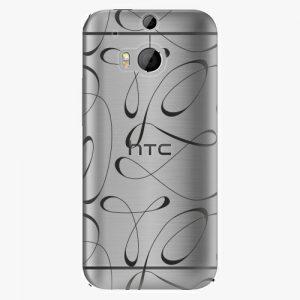 Plastový kryt iSaprio - Fancy - black - HTC One M8