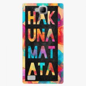 Plastový kryt iSaprio - Hakuna Matata 01 - Huawei Honor 3C