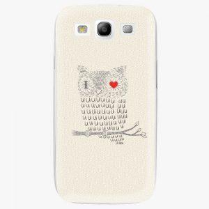 Plastový kryt iSaprio - I Love You 01 - Samsung Galaxy S3