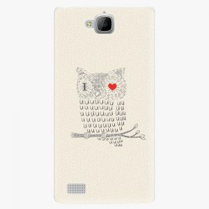 Plastový kryt iSaprio - I Love You 01 - Huawei Honor 3C