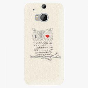 Plastový kryt iSaprio - I Love You 01 - HTC One M8