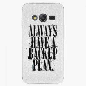 Plastový kryt iSaprio - Backup Plan - Samsung Galaxy Trend 2 Lite