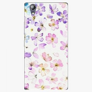 Plastový kryt iSaprio - Wildflowers - Lenovo P70