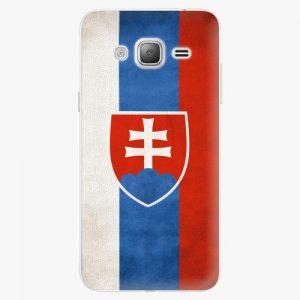 Plastový kryt iSaprio - Slovakia Flag - Samsung Galaxy J3 2016