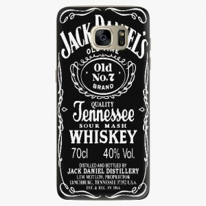 Plastový kryt iSaprio - Jack Daniels - Samsung Galaxy S7 Edge