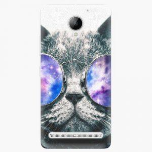 Plastový kryt iSaprio - Galaxy Cat - Lenovo C2