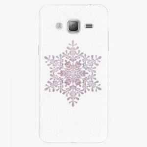 Plastový kryt iSaprio - Snow Flake - Samsung Galaxy J3 2016