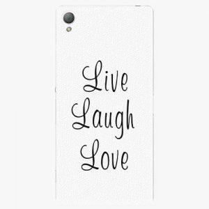 Plastový kryt iSaprio - Live Laugh Love - Sony Xperia Z3