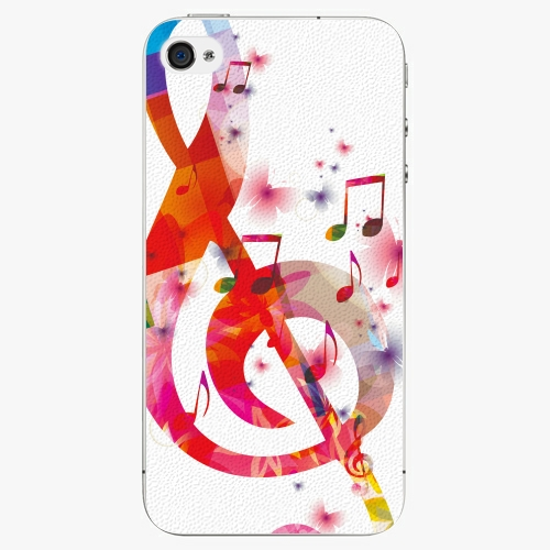 Plastový kryt iSaprio - Love Music - iPhone 4/4S