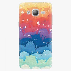 Plastový kryt iSaprio - Cats World - Samsung Galaxy J3 2016