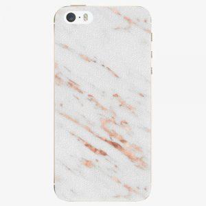 Plastový kryt iSaprio - Rose Gold Marble - iPhone 5/5S/SE