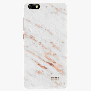 Plastový kryt iSaprio - Rose Gold Marble - Huawei Honor 4C