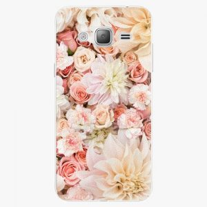 Plastový kryt iSaprio - Flower Pattern 06 - Samsung Galaxy J3 2016