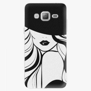 Plastový kryt iSaprio - First Lady - Samsung Galaxy J3 2016