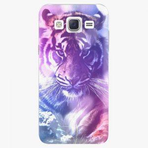 Plastový kryt iSaprio - Purple Tiger - Samsung Galaxy J5