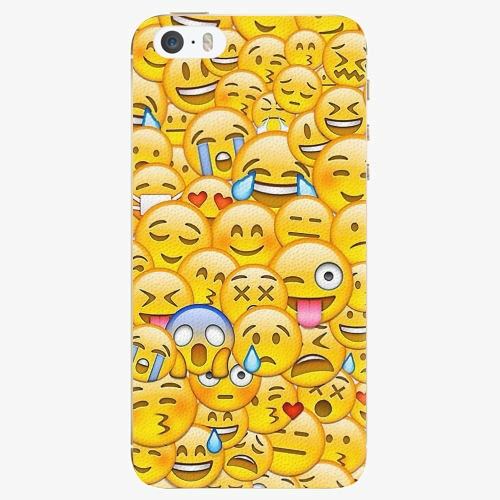 Plastový kryt iSaprio - Emoji - iPhone 5 5S SE - Kryty a pouzdra ... 46e925c5f17