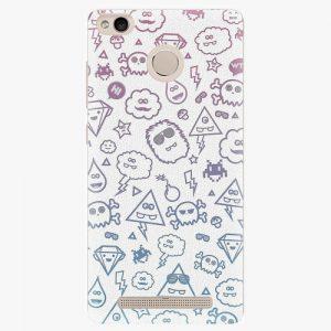 Plastový kryt iSaprio - Funny Clouds - Xiaomi Redmi 3S