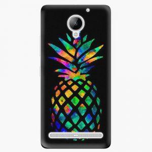 Plastový kryt iSaprio - Rainbow Pineapple - Lenovo C2