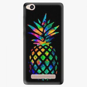 Plastový kryt iSaprio - Rainbow Pineapple - Xiaomi Redmi 4A