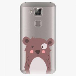 Plastový kryt iSaprio - Brown Bear - Huawei Ascend G8