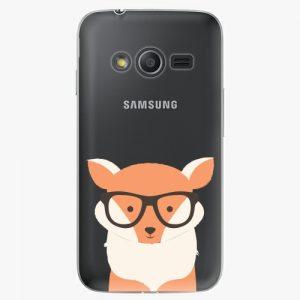 Plastový kryt iSaprio - Orange Fox - Samsung Galaxy Trend 2 Lite