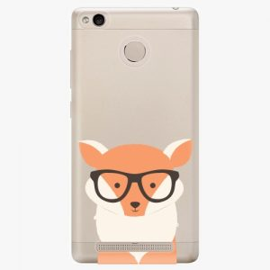 Plastový kryt iSaprio - Orange Fox - Xiaomi Redmi 3S