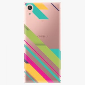 Plastový kryt iSaprio - Color Stripes 03 - Sony Xperia XA1