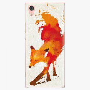 Plastový kryt iSaprio - Fast Fox - Sony Xperia XA1