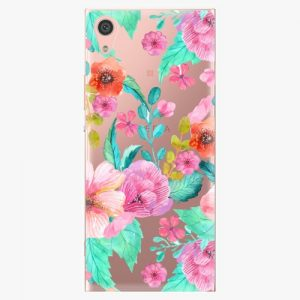 Plastový kryt iSaprio - Flower Pattern 01 - Sony Xperia XA1