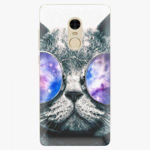 Plastový kryt iSaprio - Galaxy Cat - Xiaomi Redmi Note 4
