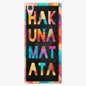 Plastový kryt iSaprio - Hakuna Matata 01 - Sony Xperia XA1