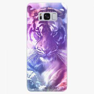 Plastový kryt iSaprio - Purple Tiger - Samsung Galaxy S8