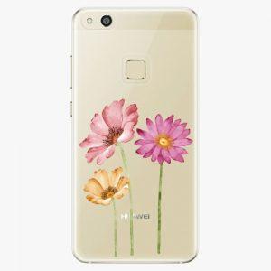 Plastový kryt iSaprio - Three Flowers - Huawei P10 Lite