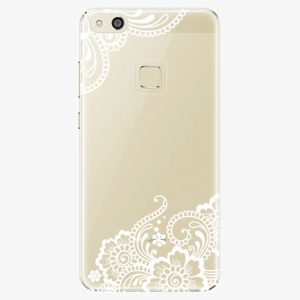 Plastový kryt iSaprio - White Lace 02 - Huawei P10 Lite
