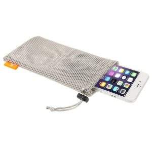 Univerzální pouzdro / kapsa na mobil Nylon Haweel šedá