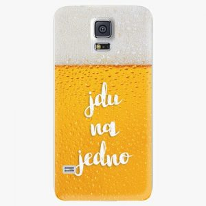 Plastový kryt iSaprio - Jdu na jedno - Samsung Galaxy S5