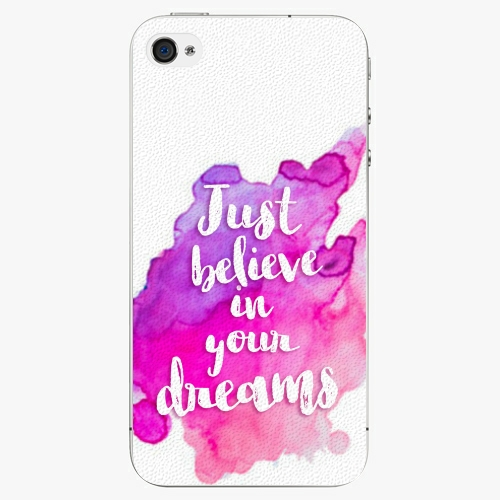 Plastový kryt iSaprio - Believe - iPhone 4 4S - Kryty a pouzdra ... 50a30e87e7b
