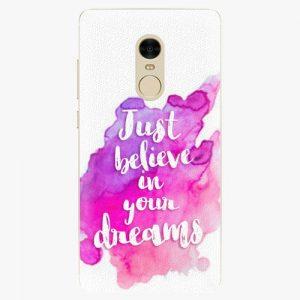 Plastový kryt iSaprio - Believe - Xiaomi Redmi Note 4