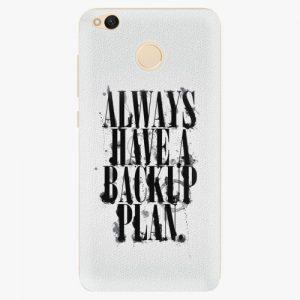 Plastový kryt iSaprio - Backup Plan - Xiaomi Redmi 4X