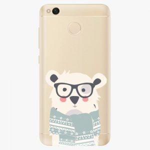 Plastový kryt iSaprio - Bear with Scarf - Xiaomi Redmi 4X