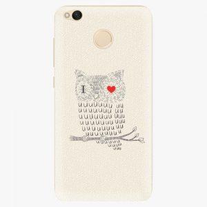 Plastový kryt iSaprio - I Love You 01 - Xiaomi Redmi 4X